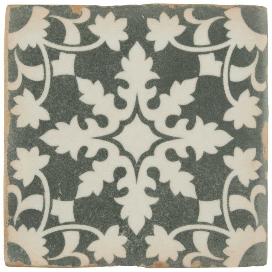 patterned tile, archivo porcelain tile