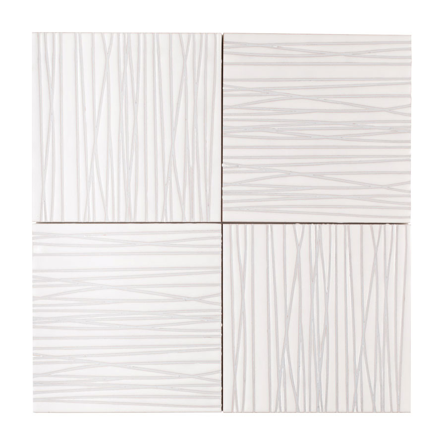 patterned tile, neutral ceramic tile