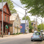 downtown Bridgton, Maine