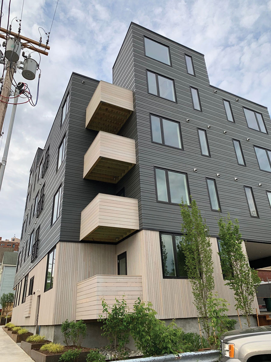 affordable housing in Portland Maine, Parris Terraces
