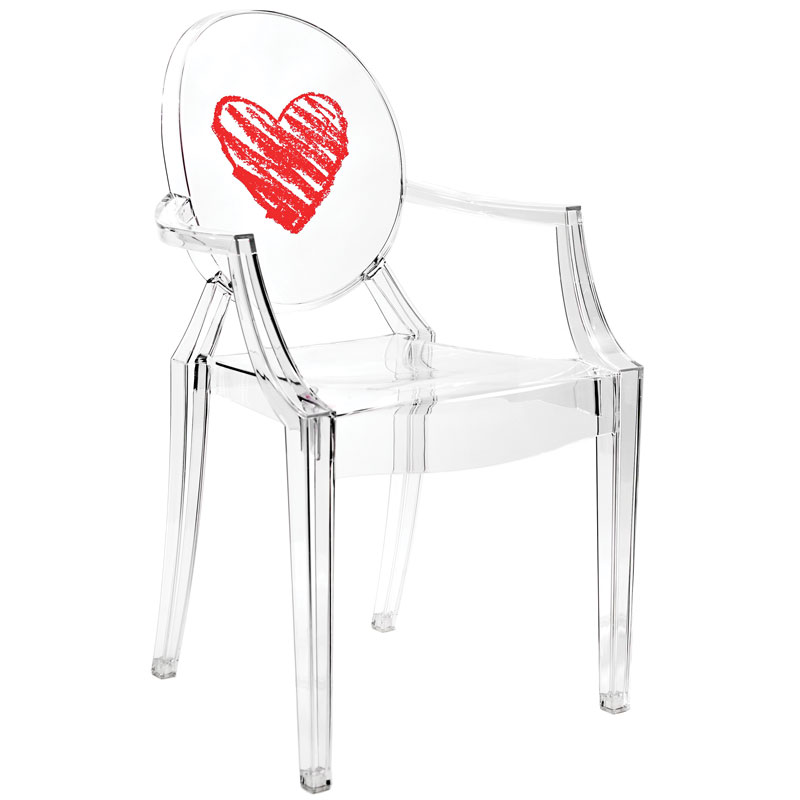 Kartell's Lou Lou Ghost chair
