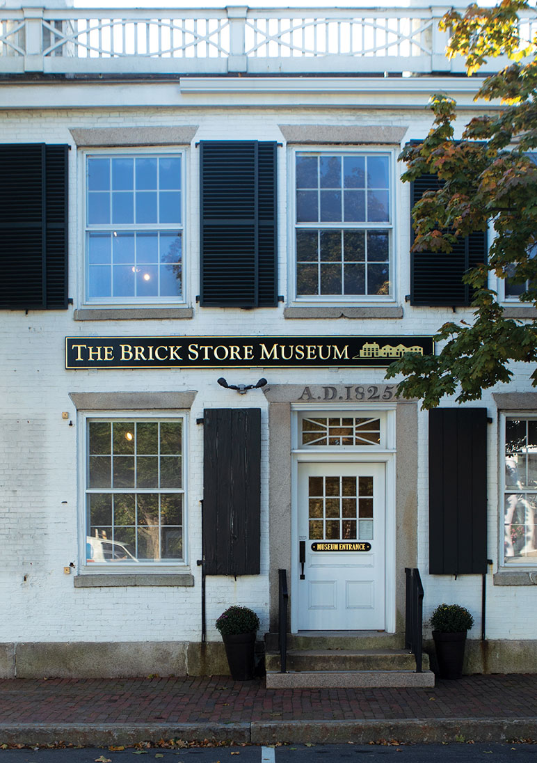 The Brick Store Museum in Kennebunk