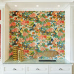 clever ways to use wallpaper