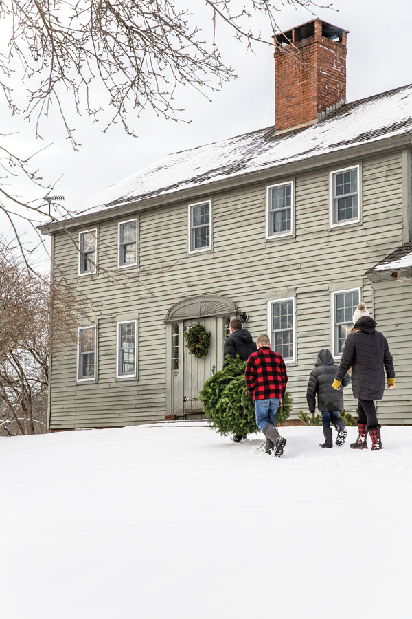 Rachael and Kurt Anderson's Winterport Colonial