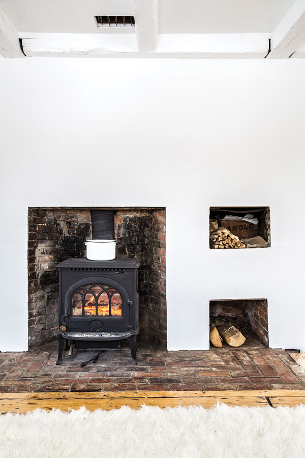 woodstove of Winterport Colonial