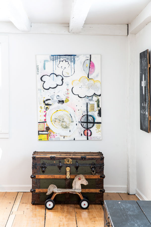 abstract painting by Rachael Anderson