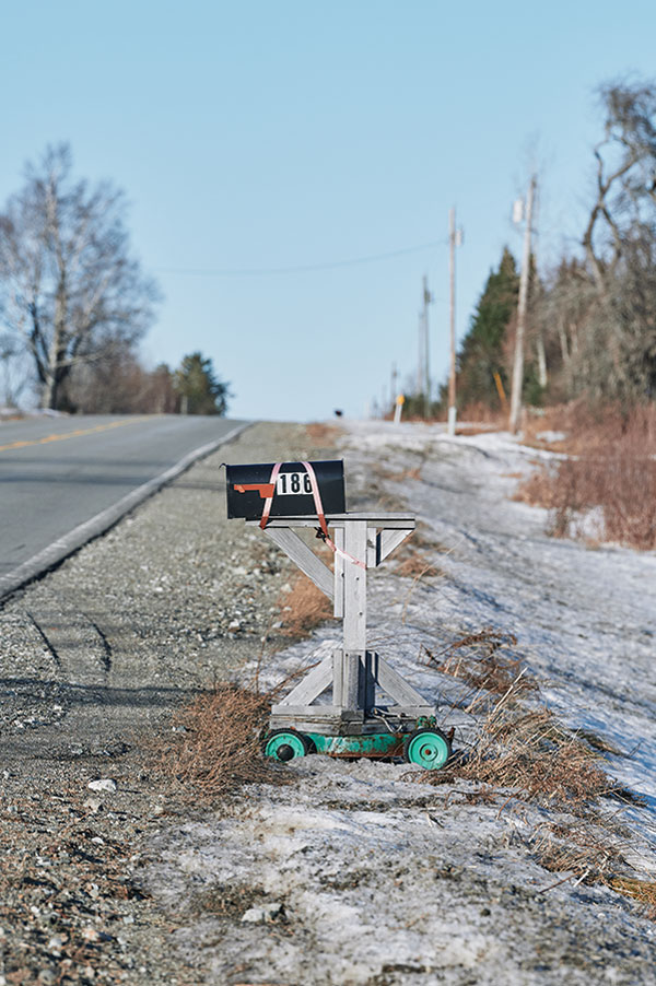 Aroostook County's innovative mailboxes