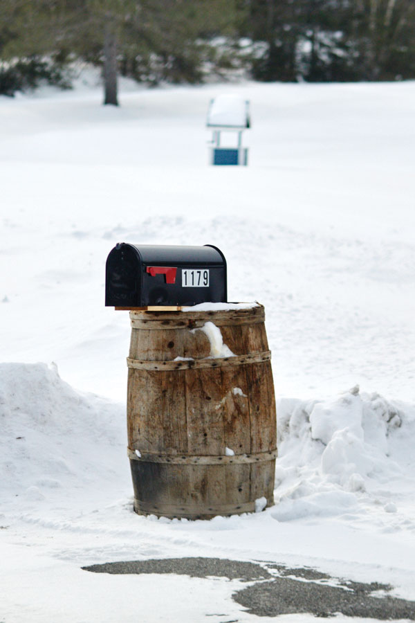 Aroostook County mailboxes