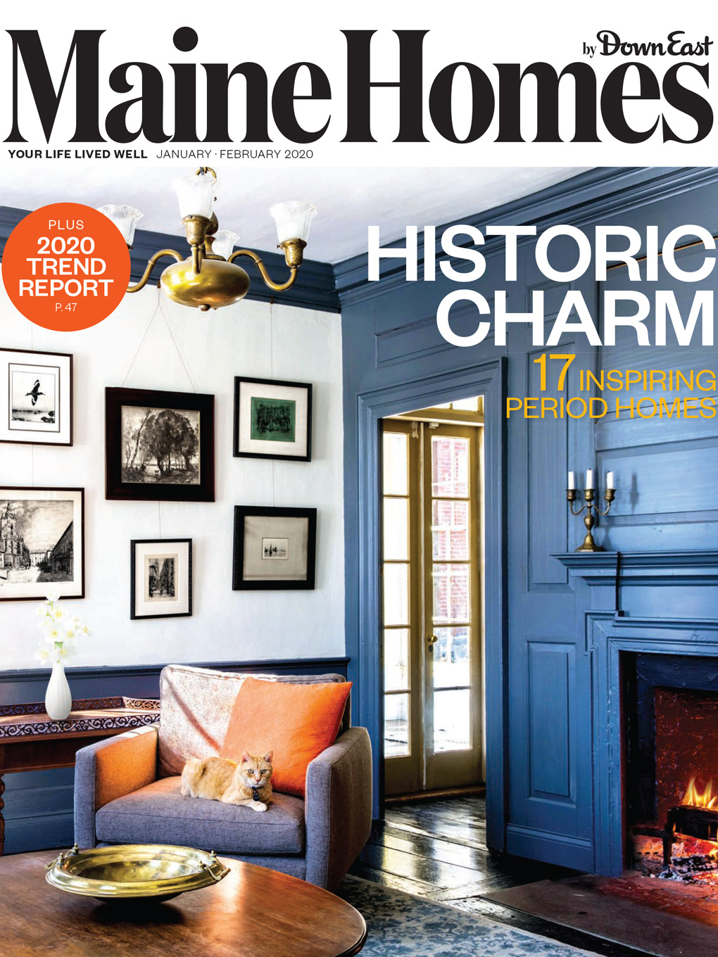 Maine Homes by Down East magazine, January/February 2020
