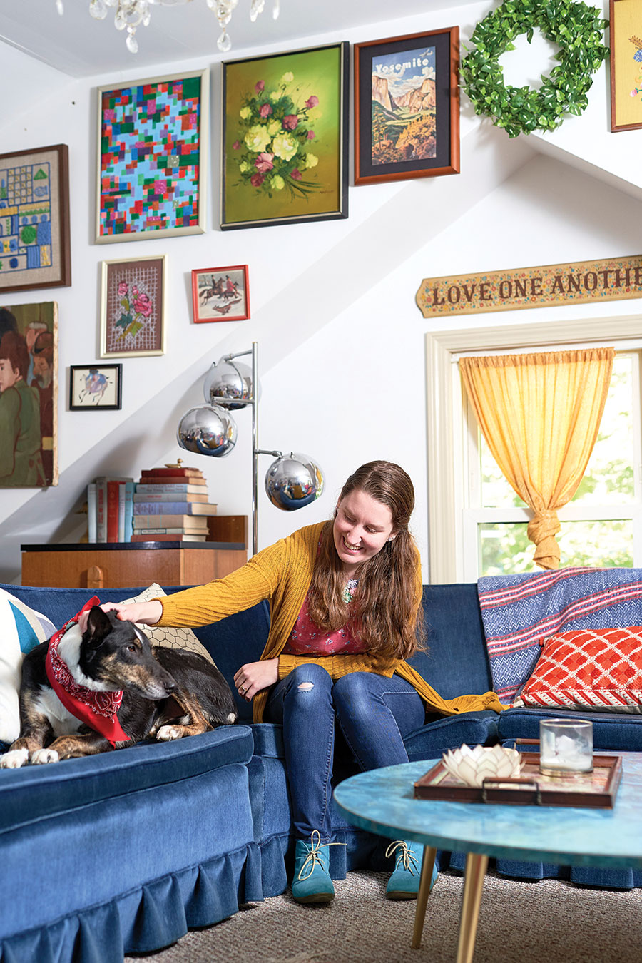 Heidi Beaudry in her home