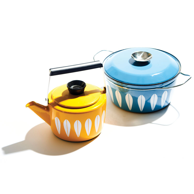1960s Cathrineholm Lotus enamelware