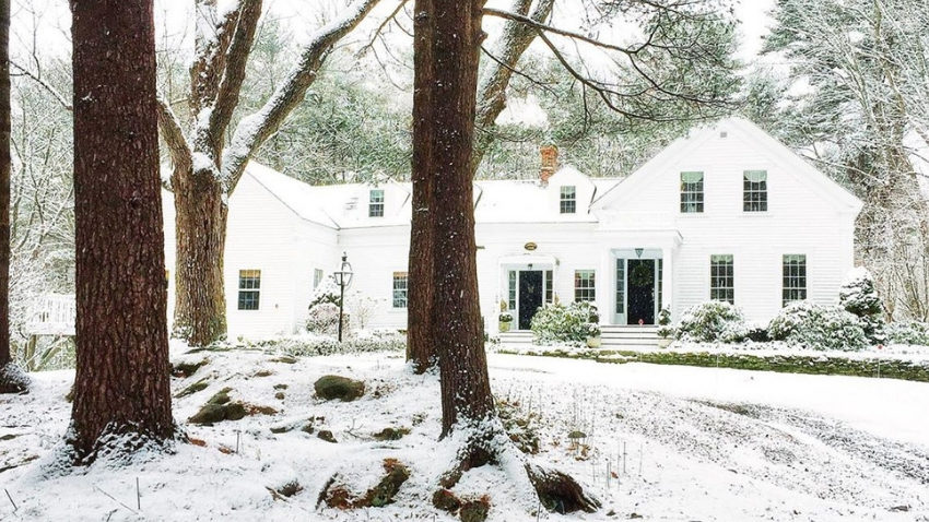 Lakehaven Cottage, a 1820's New England farmhouse