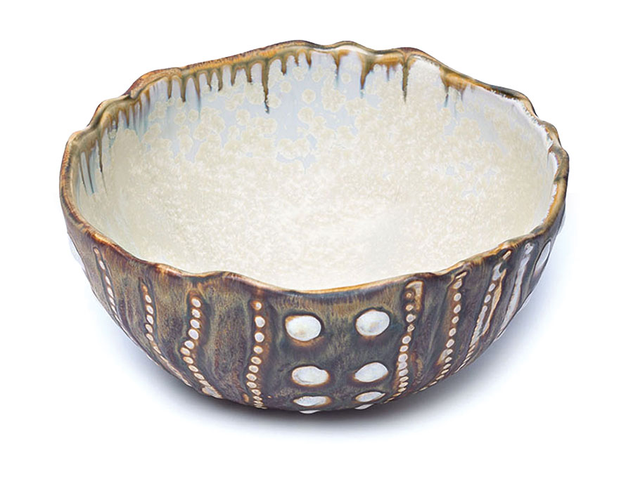 sea urchin bowl by Alison Evans
