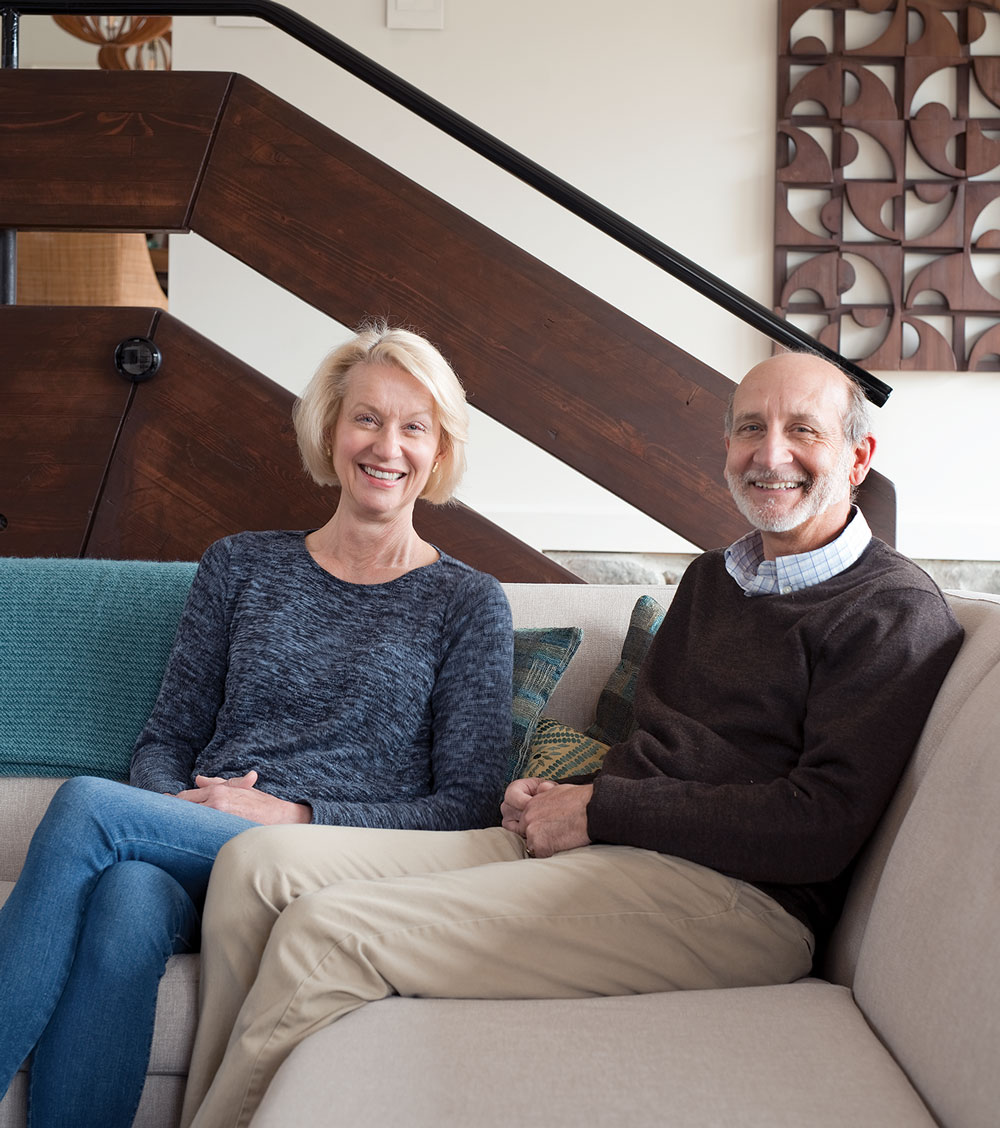Laurel and Richard LaBauve of SoPo Cottage