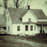 Inez Sherman home on Route 27 in Edgecomb