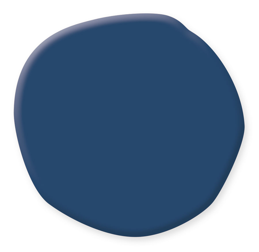 Downpour Blue, a classic blue by Benjamin Moore