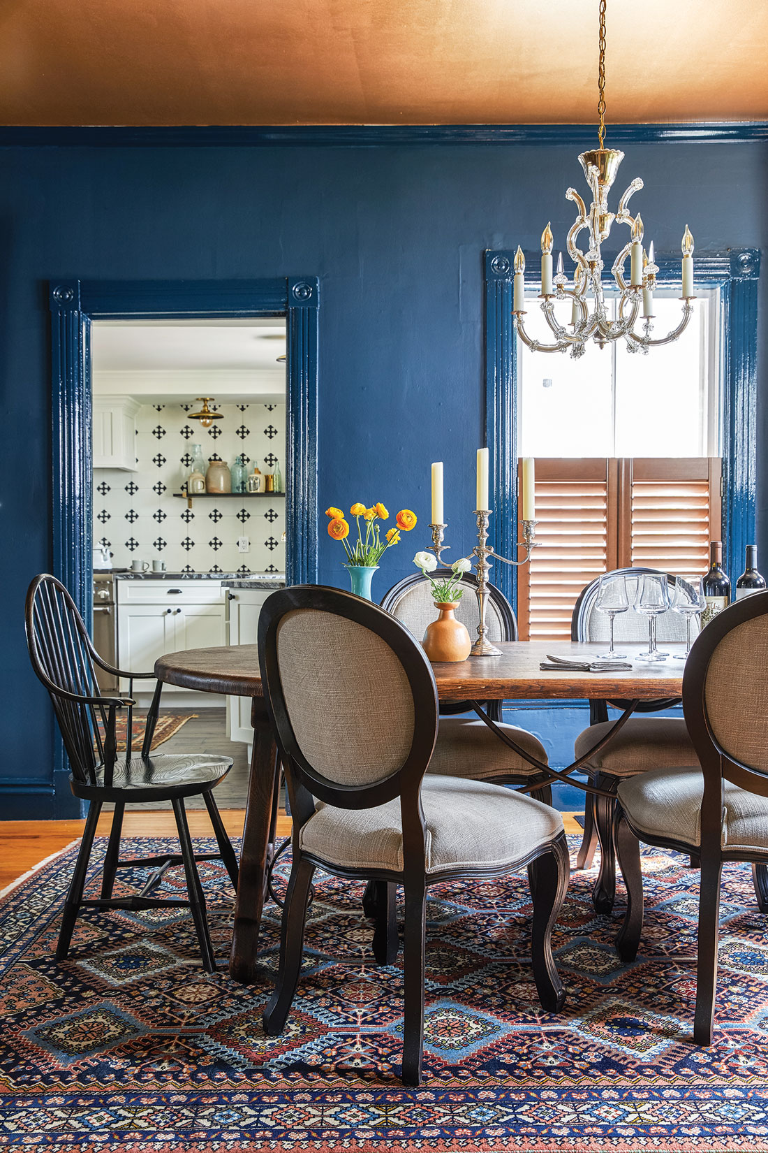 Hague Blue, a classic blue by Farrow & Ball