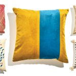 Maine-stitched pillows