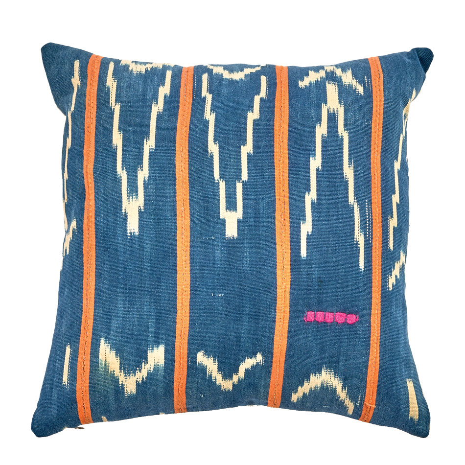 CAMP by HLI flax-linen STELLA pillow, Heidi Lachappelle