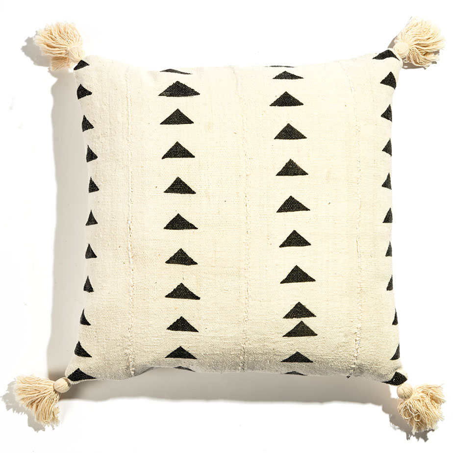 Always Piper mud cloth pillow