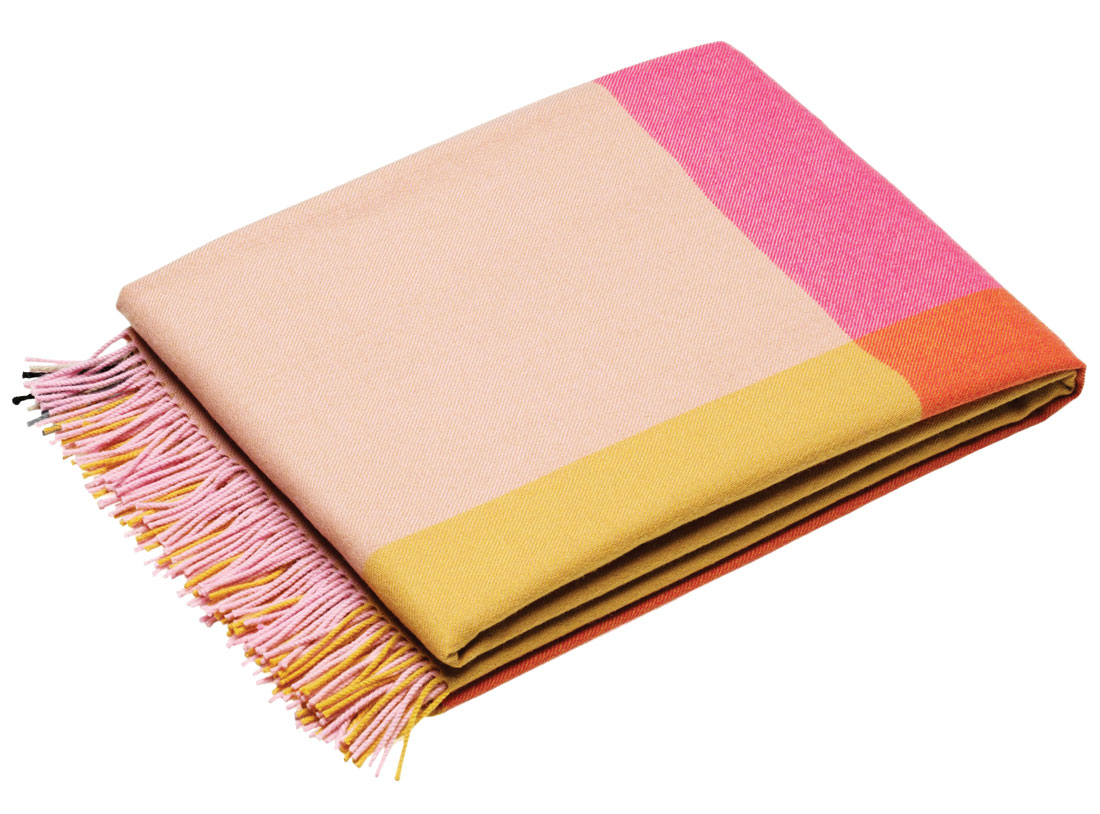 Color Block blanket by Vitra
