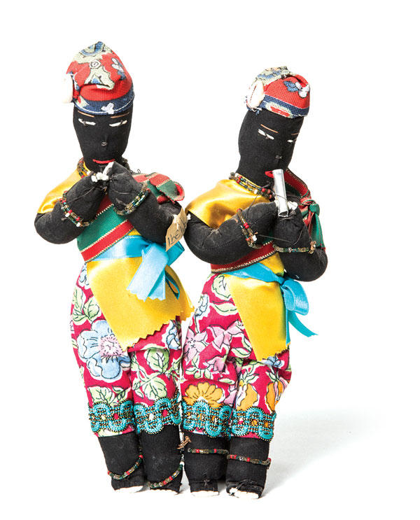 "Ibeji, or ""twins,"" from Salvador, Brazil"