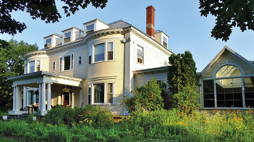 Amos G. Winter House, Hillholm mansion in Kingfield Maine