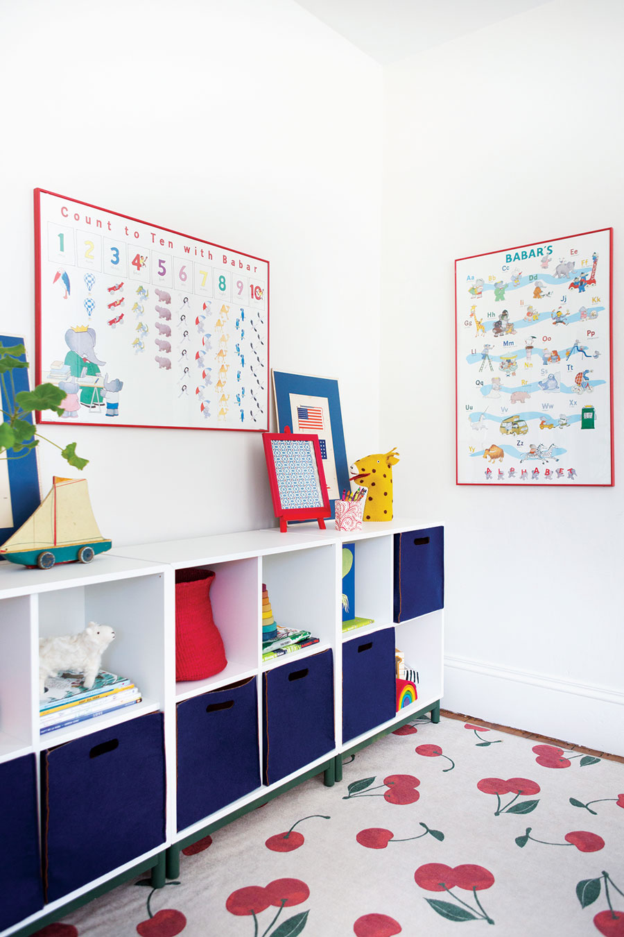 playroom designed by Sarah Storms
