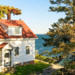 Bass Harbor Head Light, photographed by Instagram's tidetopine