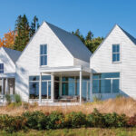 gabled retreat designed by WMH Architects in Bernard Maine