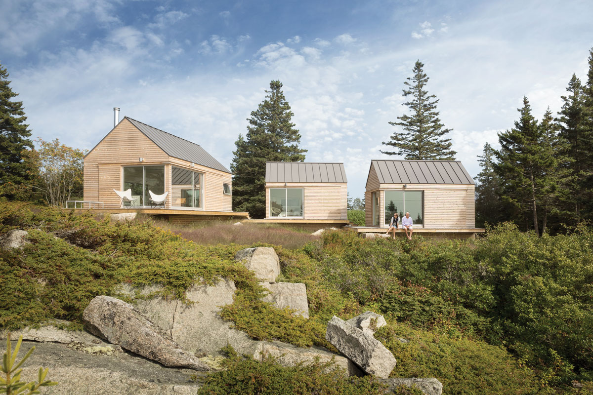 separate structures for a healthy Maine home
