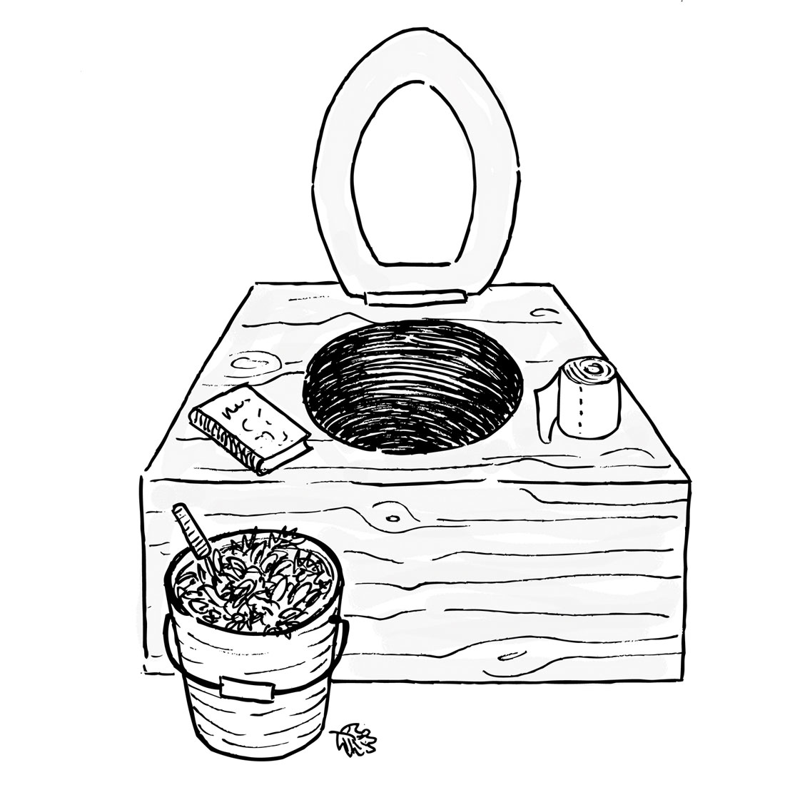 What do I need to know about composting toilets? Are they difficult to maintain?