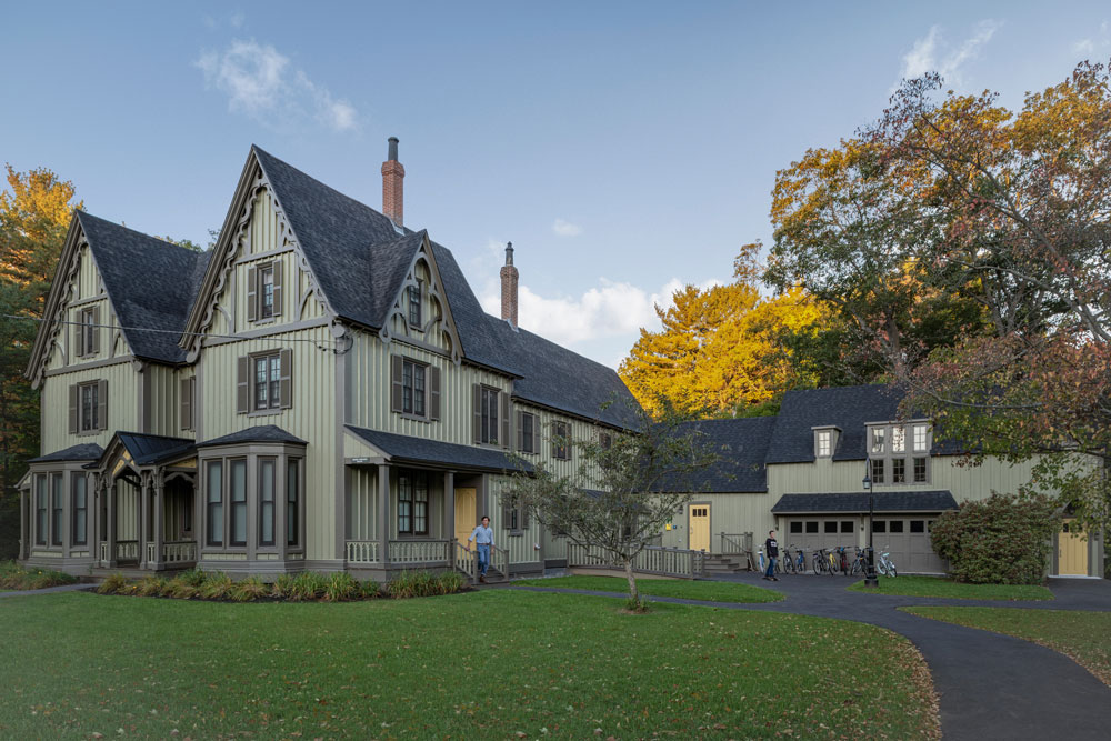 Boody-Johnson House, Gothic Revival cottage