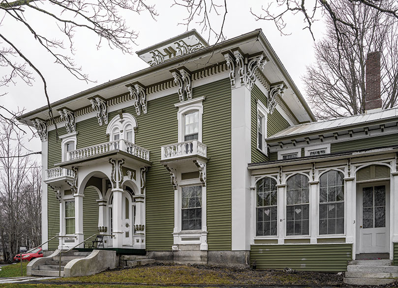 Richmond's Thomas Jefferson Southard House, an Italianate