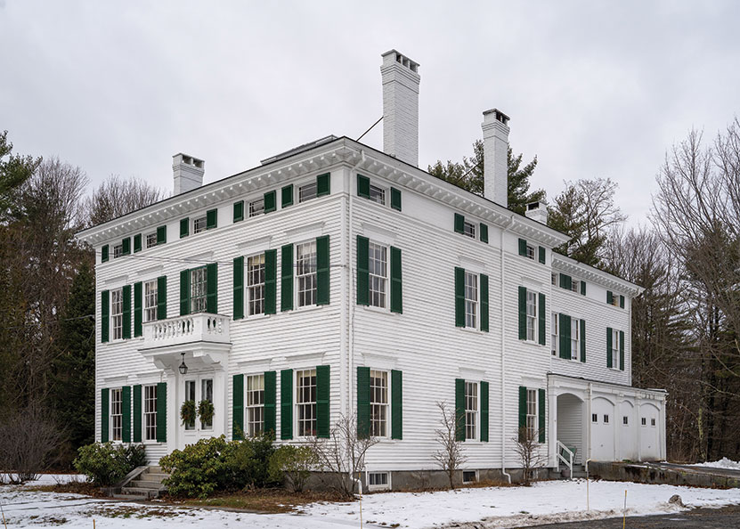 Yarmouth's Captain Reuben Merrill House, another Italianate