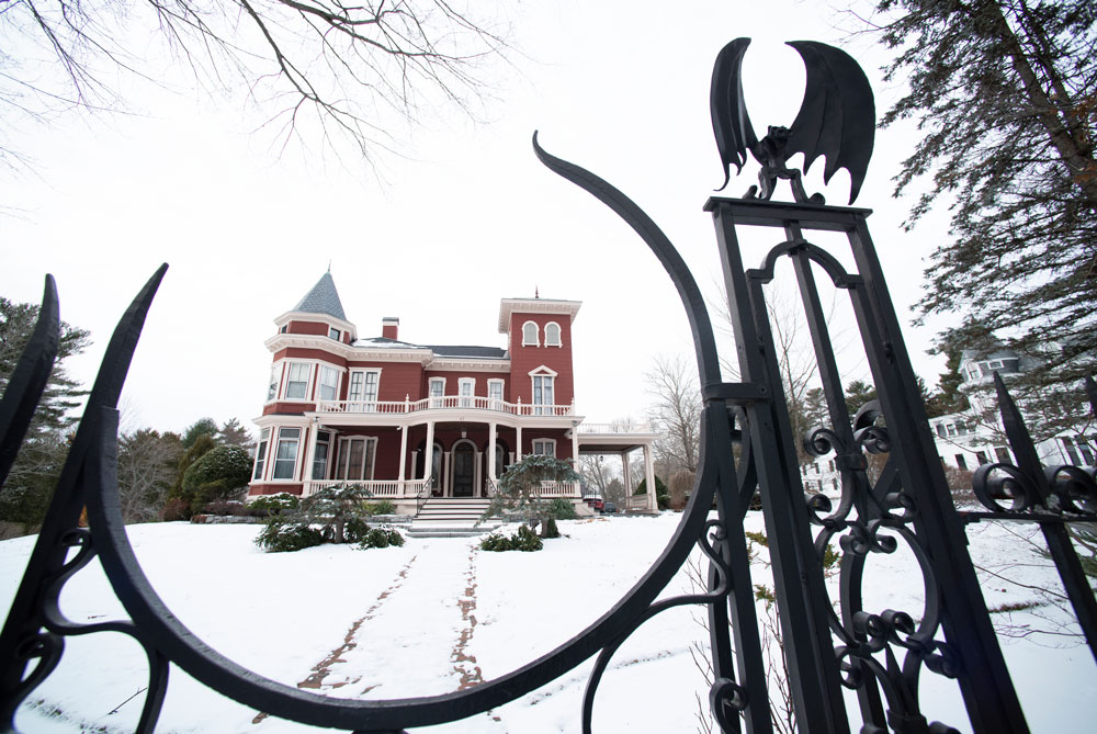 Bangor's William Arnold (a.k.a. Stephen King's) House, an Italianate