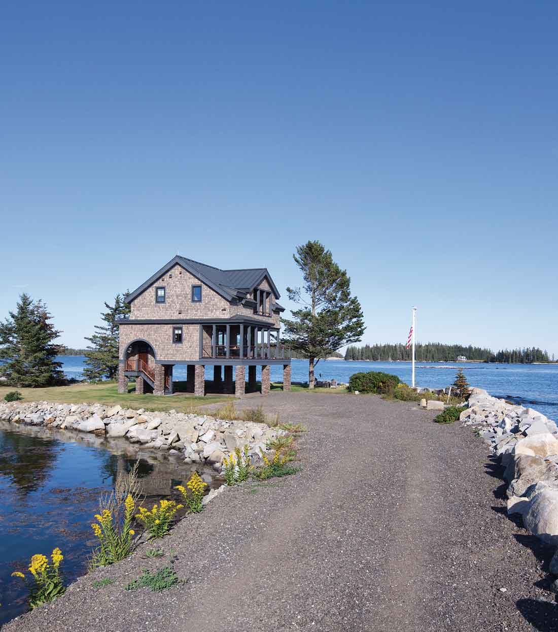 Mouse Island in St. George, Maine