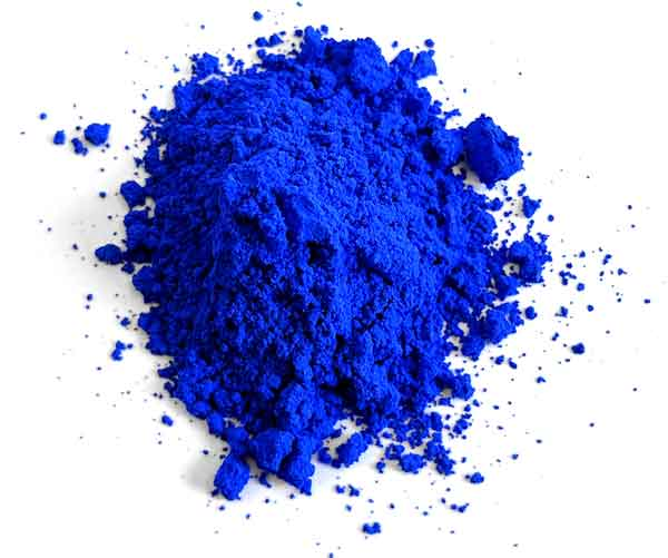 """Named for its yttrium, indium, and manganese chemical components, YInMn (pronounced """"yin-min"""") looks like a cross between ultramarine and cobalt, but brighter"""