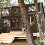 Courtney and Patrick Ryans' Greenwood camp exterior