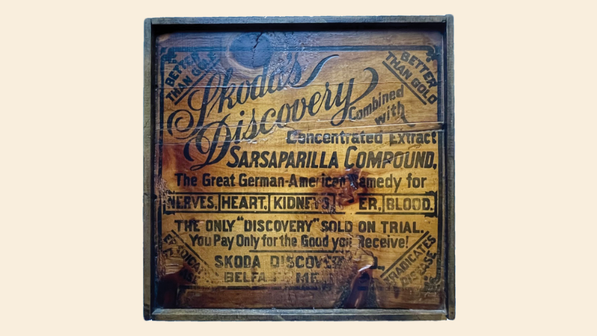 Skoda's Discovery box and other Maine antiques