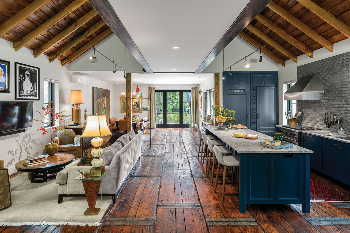 With insulation, air sealing, heat pumps, and a mechanical ventilation system, Portland's Briburn architecture firm and Bowdoinham's Emerald Builders turned a drafty old Falmouth barn into a highly efficient, healthy living space.