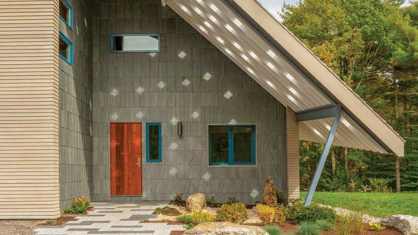 We're crushing on a Falmouth new build that marries traditional and modern aesthetics.