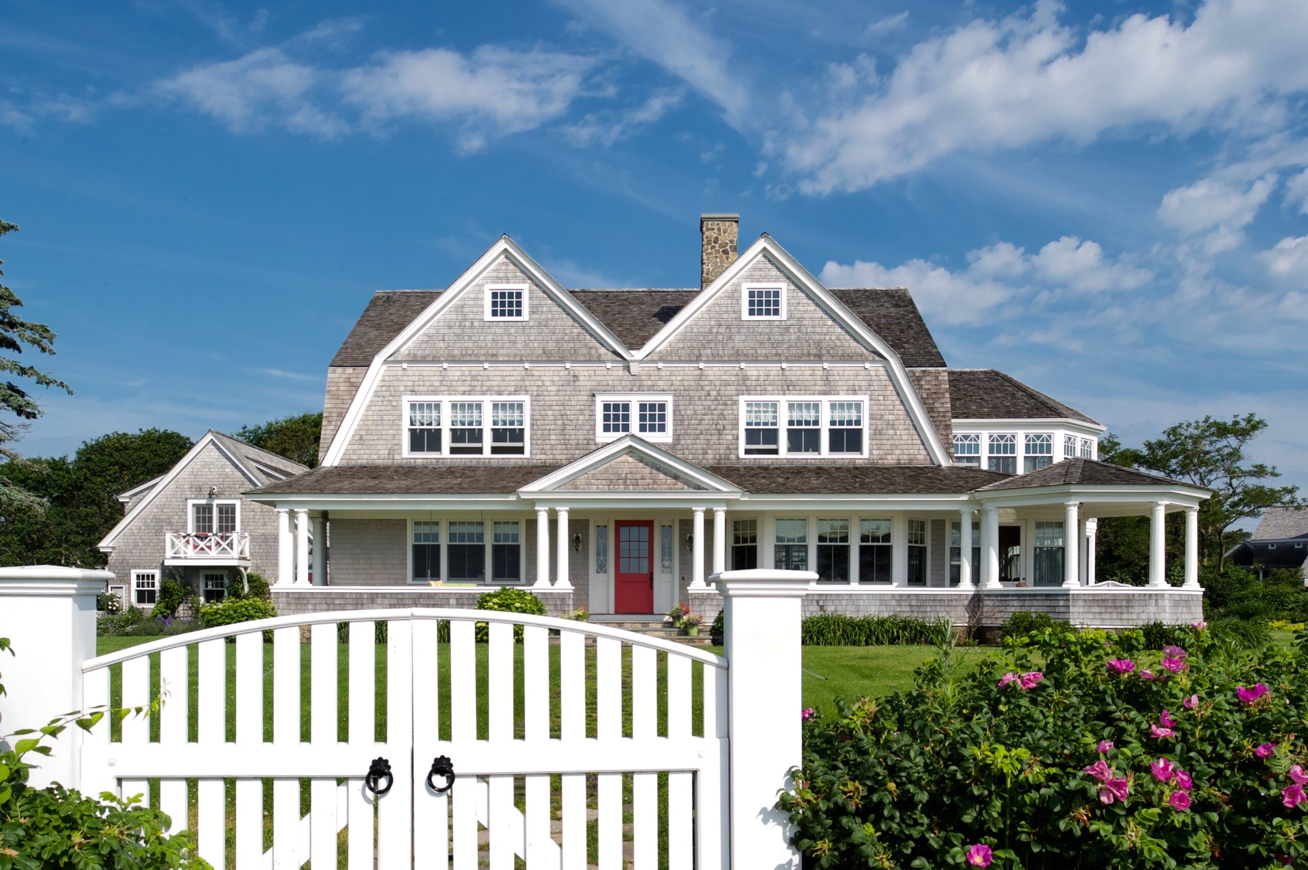 Coastal Double Gambrel